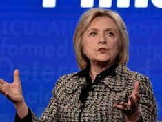 Hillary Clinton on who she thinks 2020 Democratic voters should pick for nominee