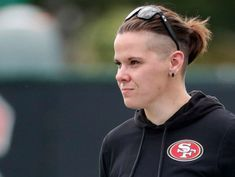 Super Bowl sees 1st female and openly gay coach in game's history