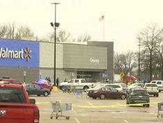 2 police officers shot at Walmart, suspect killed