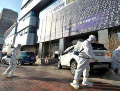 Coronavirus patient numbers double overnight in South Korea