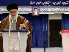 Conservatives poised to make gains in Iran elections amid sanctions