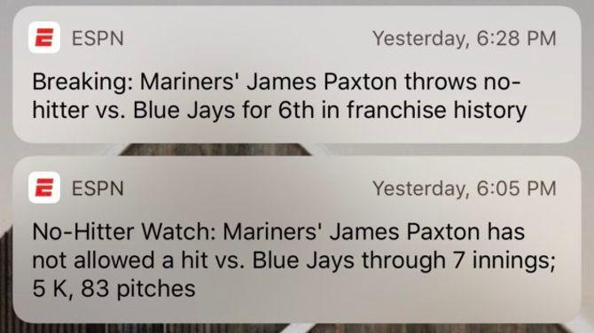 ESPN alerts