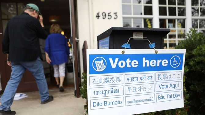 LIVE UPDATES: Primary elections underway in California, 7 states