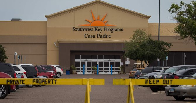 Walmart 'Surprised' Old Store Is a Migrant Shelter. Records Hinted at the Possibility.
