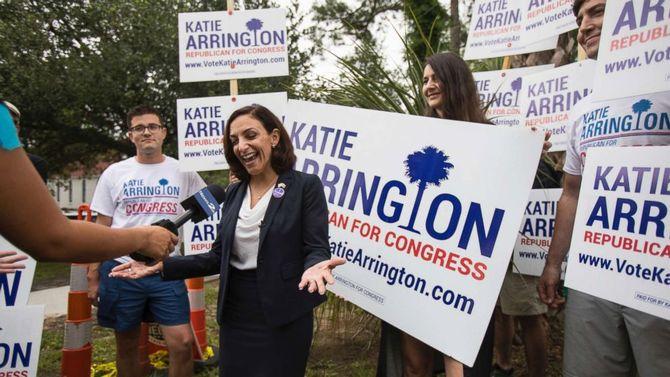 Pro-Trump congressional nominee Katie Arrington seriously injured in car crash