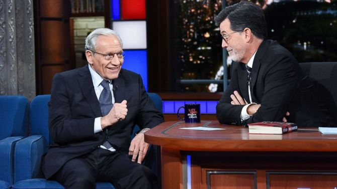 Bob Woodward reveals what shocked him most in new Trump book