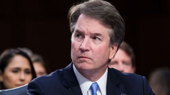 Trump defends Supreme Court nominee amid sexual assault allegation