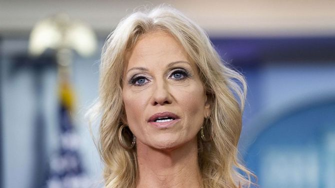 Kellyanne Conway says she is a victim of sexual assault