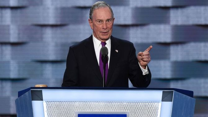 Former NYC Mayor Michael Bloomberg re-registers as a Democrat