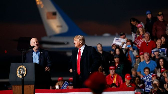 At Montana rally, Trump praises candidate who body-slammed reporter