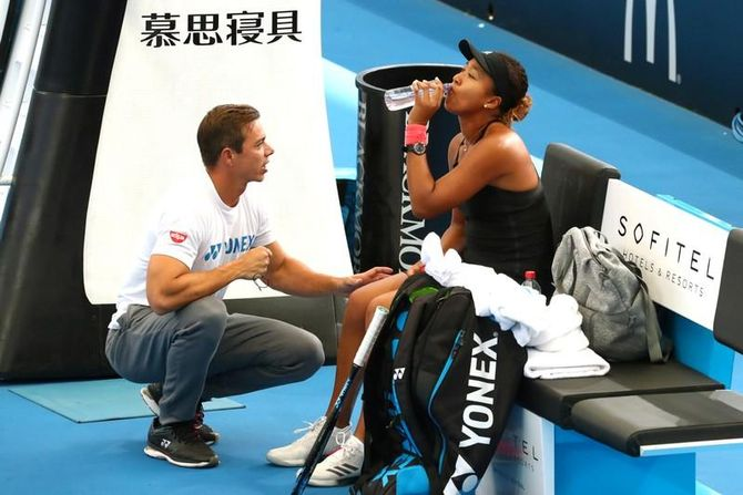 Tennis: Osaka splits with coach Bajin