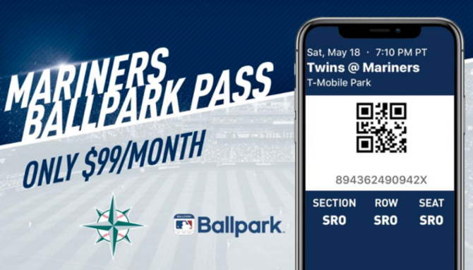 Seattle Mariners joining other pro sports franchises with increased move to mobile ticketing