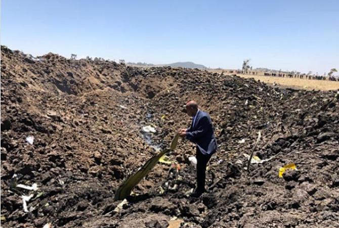 157 die in Ethiopian crash, marking second loss of Boeing 737 MAX jet in five months