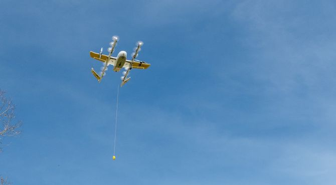 Alphabet's Wing gets FAA permission to start delivering by drone