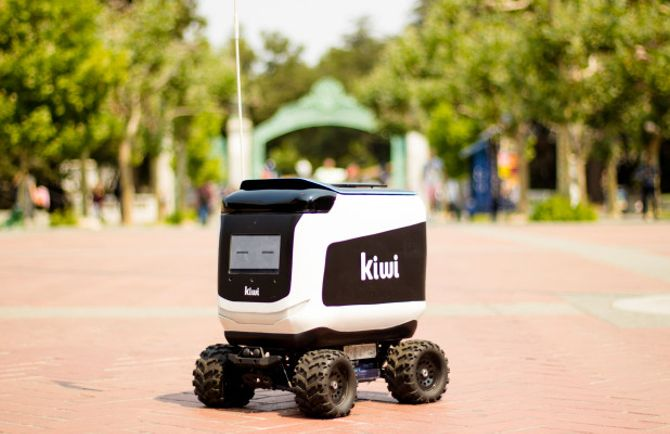 Kiwi's food delivery bots are rolling out to 12 more colleges