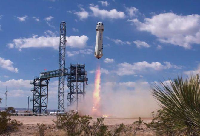 Blue Origin lofts NASA and student experiments in New Shepard tomorrow morning