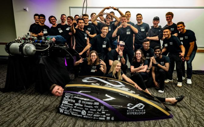 Washington Hyperloop slims down its pod racer for Elon Musk's next big contest
