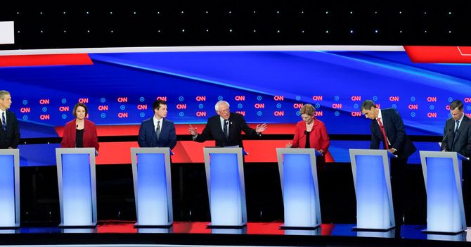 Democratic Debate Turns Ferocious Over Health Care