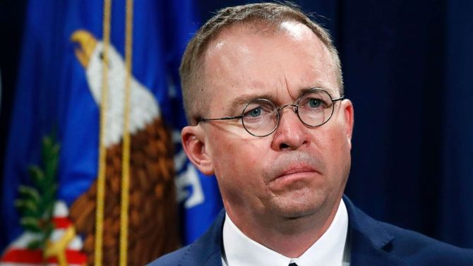 President Trump's rhetoric not to blame for mass shootings: Mick Mulvaney