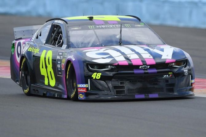 NASCAR notebook: Johnson weathers collision, sees Playoff position improve