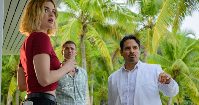 Review: 'Fantasy Island' movie squanders premise on thrill-free horror