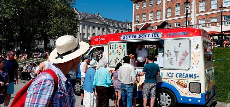 Air Pollution Fears Put London's Ice Cream Trucks at Risk