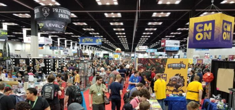 The spectacle of Gen Con, the country's largest (and possibly friendliest) tabletop game convention