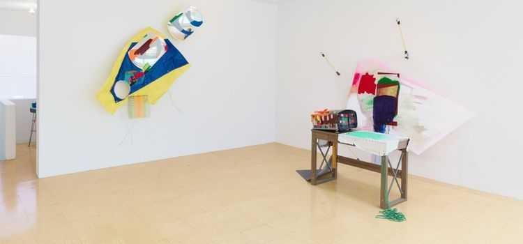 Review: In this L.A. gallery, one artist puts her 'Digital Thoughts' into orbit