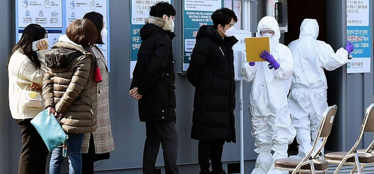 Coronavirus cases in South Korea up to 433 overnight