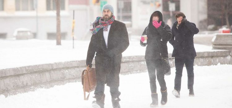 Blizzard pummels New York state as new storm moves into the west